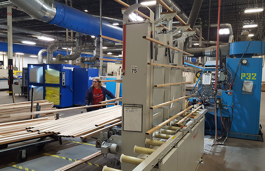 Larson-Juhl factories around the world